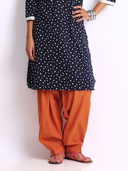 Fabindia Women Rust Orange Salwar