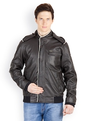 Fair Wind Men Coffee Brown Bomber Jacket