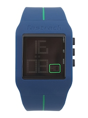 Fastrack Digitals Men Blue LCD Digital Watch 38010PP02J