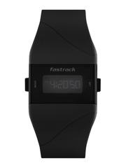 Fastrack Digitals Women Black LCD Digital Watch 68003PP01J