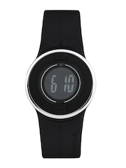 Fastrack Digitals Women Black LCD Digital Watch 68005PP01J