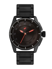 Fastrack Men Black Dial Watch 3089NM01
