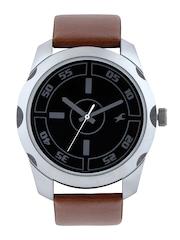 Fastrack Men Black Dial Watch 3123SL03
