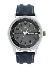 Fastrack Men Grey Dial Watch NC3001SL02