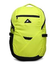 Fastrack Men Lime Green Backpack
