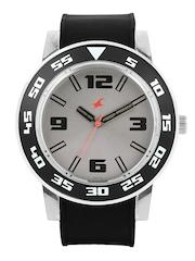 Fastrack Men Steel Toned Dial Watch