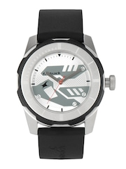 Fastrack Men Silver toned Dial Watch