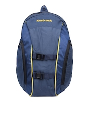Fastrack Men Blue Backpack