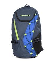 Fastrack Unisex Blue Backpack