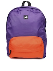 Fastrack Unisex Purple Backpack