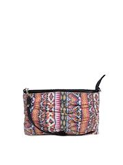Fastrack Multicoloured Printed Sling Bag