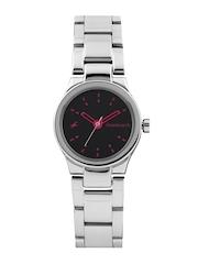 Fastrack Women Black Dial Watch 6114SM02
