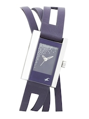 Fastrack Women Purple Dial Watch