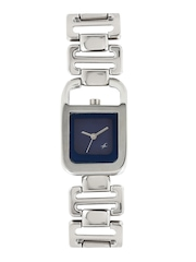 Fastrack Women Blue Dial Watch 6097SM01