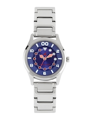 Fastrack Women Blue Dial Watch 6116SM01