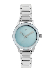 Fastrack Women Blue Dial Watch 6078SM03
