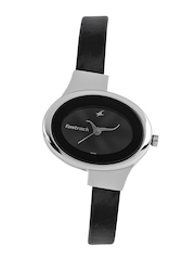 Fastrack Women Charcoal Grey Dial Watch