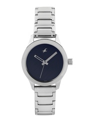 Fastrack Women Navy Dial Watch 6078SM04