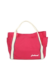 Fastrack Women Pink Tote Bag