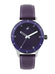 Fastrack Women Purple Dial Watch