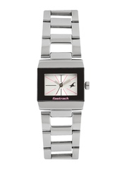 Fastrack Women Silver-Toned Dial Watch 6118SM01