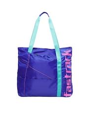 Fastrack Women Blue Tote Bag