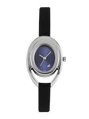 Fastrack Women Metallic Blue Dial Watch 6090SL02