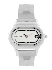Fastrack Women White Dial Watch