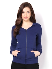 Femella Women Blue Sweatshirt