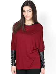 Femella Women Maroon Top