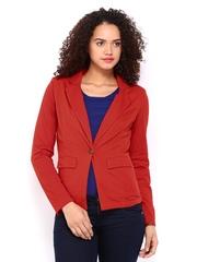 Femella Women Red Blazer