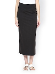 Femella Black Maxi Skirt