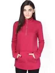 Femella Women Pink Sweatshirt
