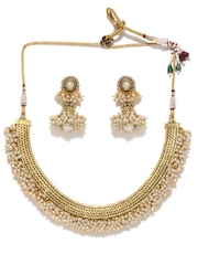Fida Gold-Toned Jewellery Set