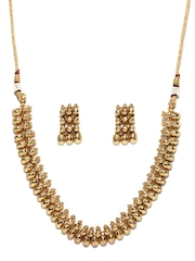 Fida Gold-Toned Jewellery Set