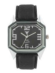 Figo Fashion Men Gunmetal Toned Dial Watch