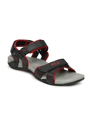 Fila Men Black Boomer Sports Sandals