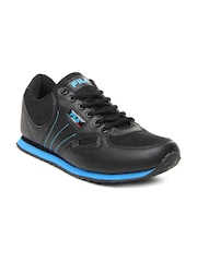 Fila Men Black Brisk Sports Shoes