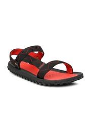 Fila Men Black Montrail Sports Sandals
