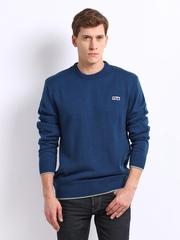 Fila Men Blue Sweater