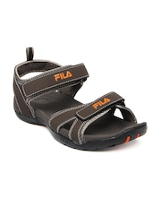 Fila Men Brown Avis Sports Sandals