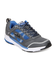 Fila Men Grey & Blue Roddy Sports Shoes