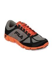 Fila Men Grey & Orange Memory Speedweave Mediator Sport Shoes