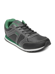 Fila Men Grey Jog Nut Sports Shoes