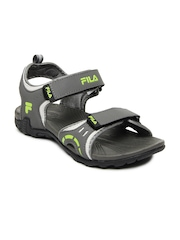 Fila Men Grey Rollo Sports Sandals