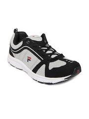 Fila Men Grey & Black Vibgyor Sports Shoes