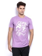 Fila Men Lavender T-shirt