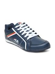 Men Navy Blue Casual Shoes FILA