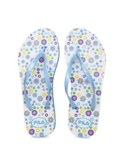 Fila Women Blue & White Flip Flops