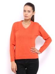 Fila Women Orange Sweater
